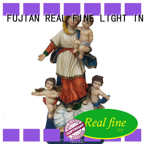 Real Fine statues resin figurines for decoration for birthday