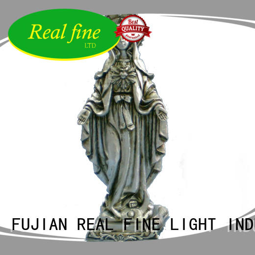 Real Fine popular resin arts and crafts wholesale for church