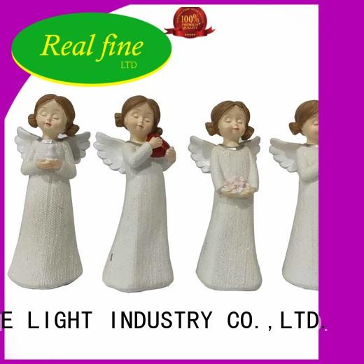 Real Fine beautiful personalized angel figurine decoration for garden