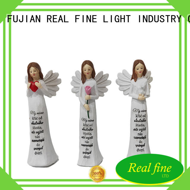 standard polyresin angel figurines for decoration for home