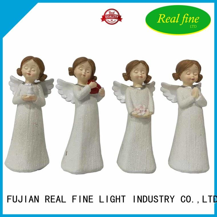 pigeon guardian angel figurines supply for office Real Fine