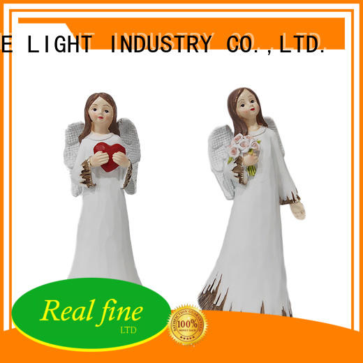 Real Fine guardian angel figurines high quality for office