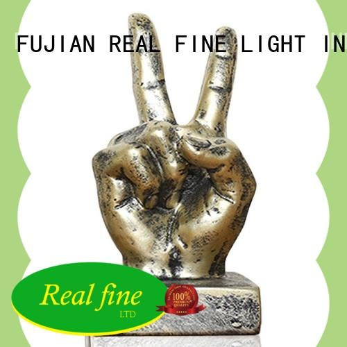 Real Fine simple Home decor figurine wholesale for home