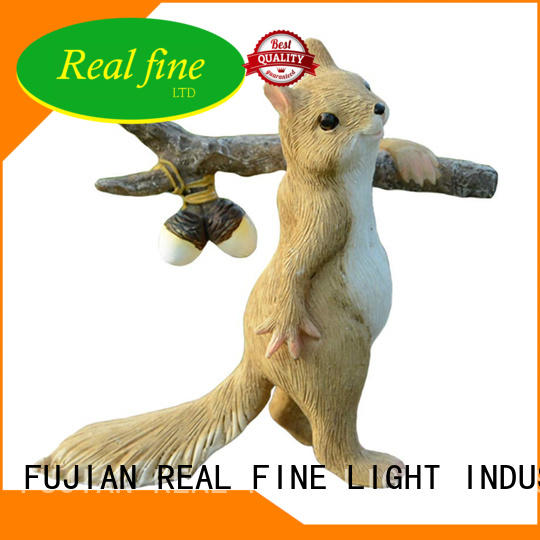 Real Fine colorful garden figurines for decoration for home