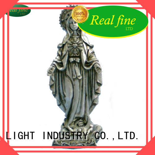 Real Fine child resin craft supplies for decoration for church
