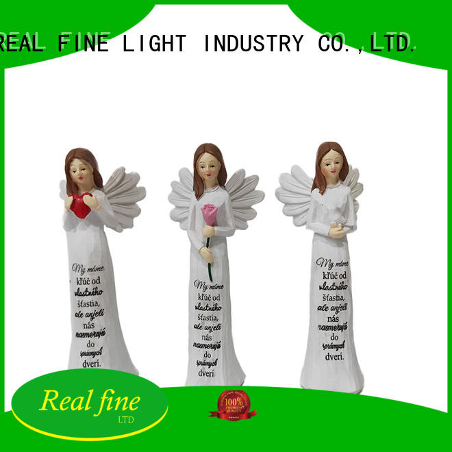 Real Fine customized resin angel figurines for decoration for church