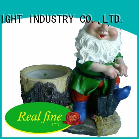 Real Fine exquisite lawn figurines resin for home