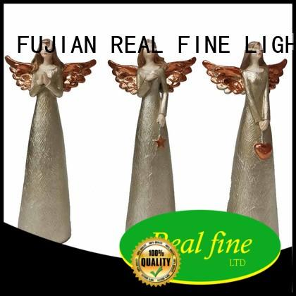 Real Fine environmental christmas angel figurines gift for church