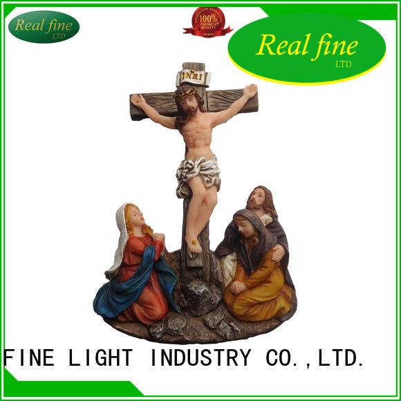 popular resin figurines della directly sale for garden