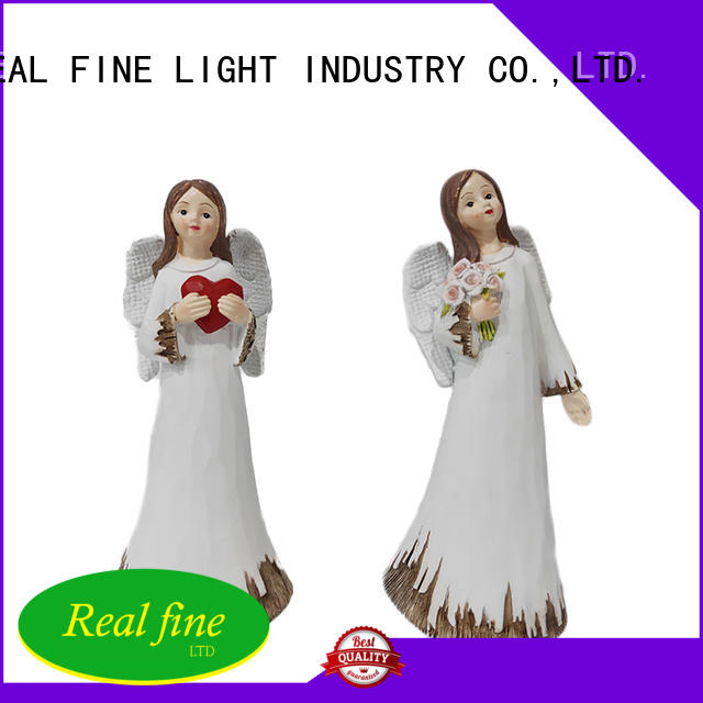 Real Fine customized angel figurines collectible high quality for church