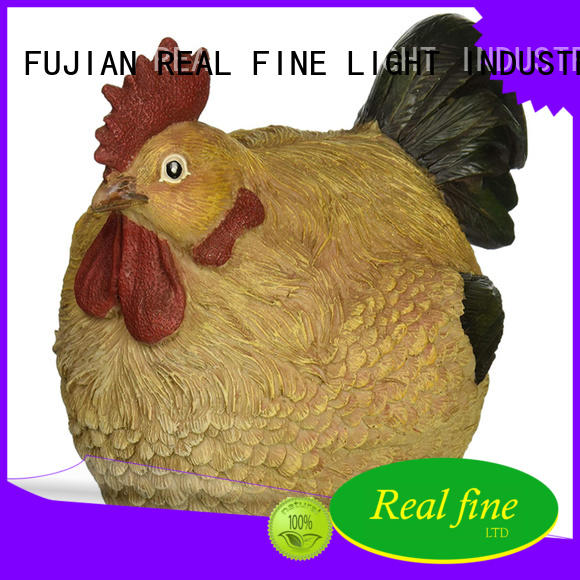 Chicken statue polyresin rooster figurine home decoration