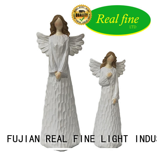 environmental religious angel figurines for gifts for church Real Fine