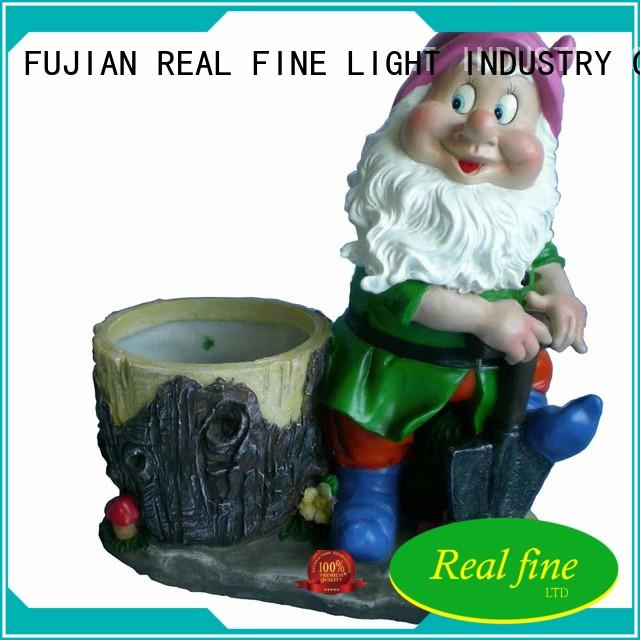 colorful outdoor figurines resin supply for home