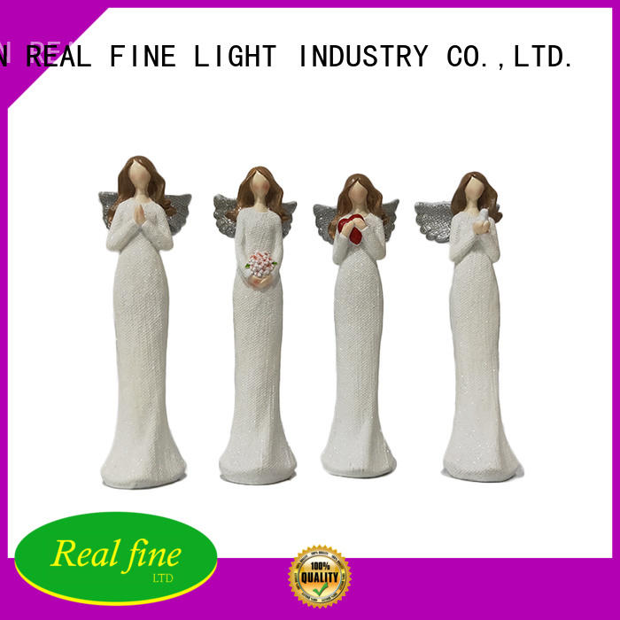 Real Fine environmental angel figurine collectables figurines for home