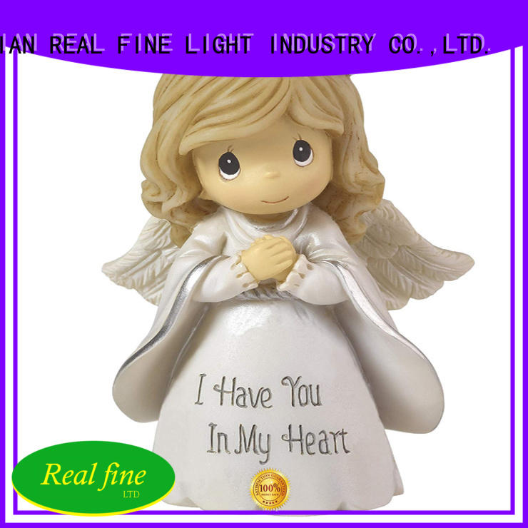 Real Fine environmental guardian angel figurines high quality for home