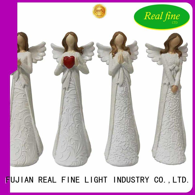 polyresin religious angel figurines festive for home Real Fine