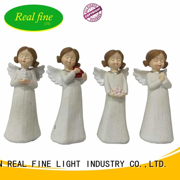 birthday christmas angel figurines high quality for garden Real Fine