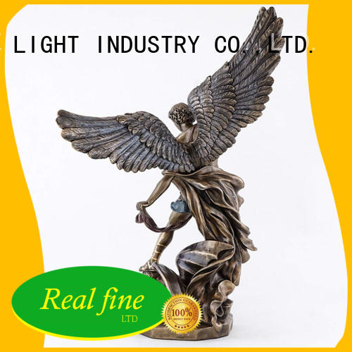 Real Fine standard guardian angel figurines supply for church