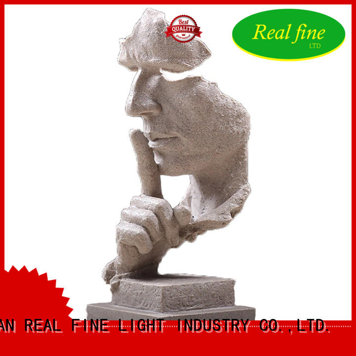 Statue of the thinker resin human figurine garden statues decoration