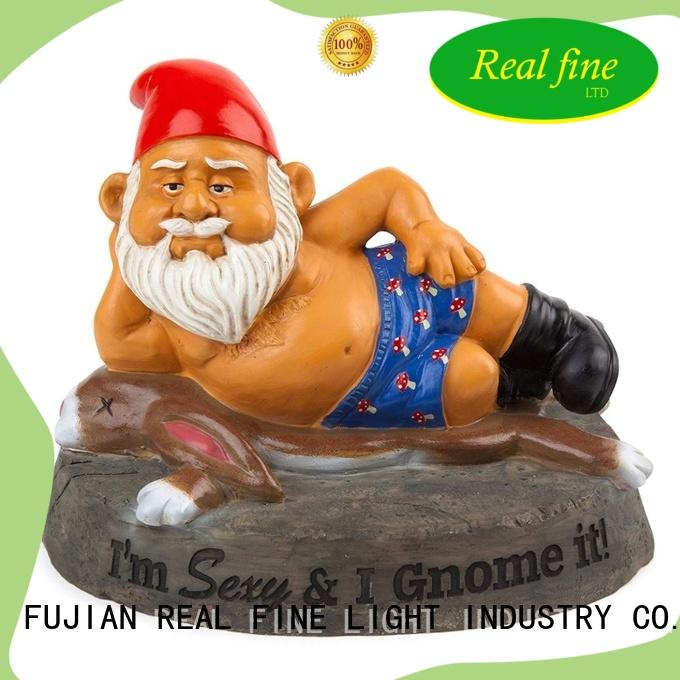 Real Fine handcraft yard figurines supply for garden