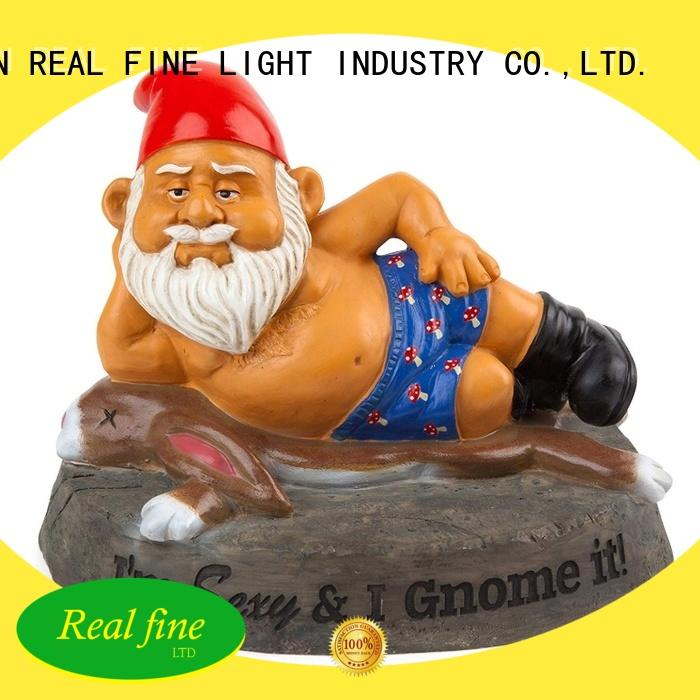 colorful garden gnome statues supply for home