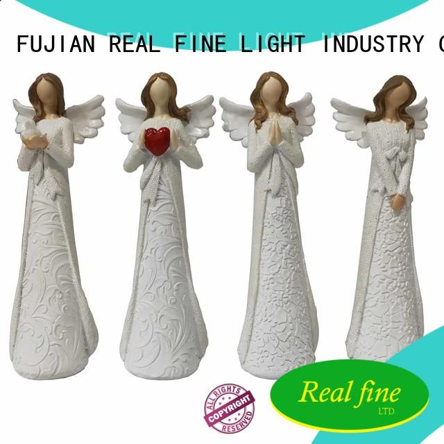 Real Fine handmade christmas angel figurines for gifts for office