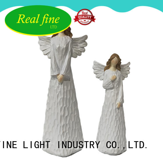 Real Fine statuary guardian angel figurines high quality for church