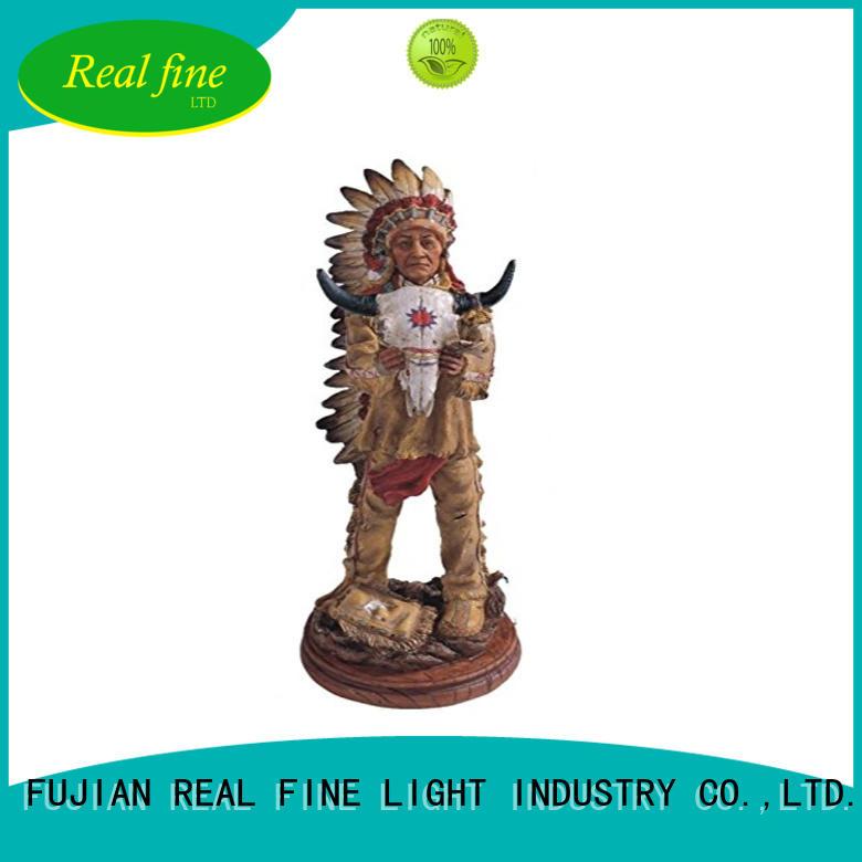 Real Fine statue Home decor figurine supplier for library