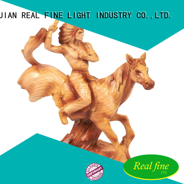 Real Fine Home decor figurine online for library