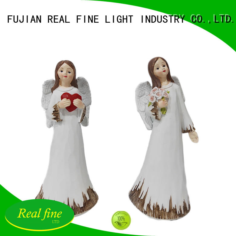 Real Fine standing angel statue figurine for decoration for office