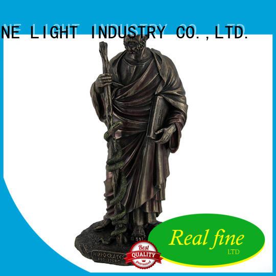 Real Fine ornament figurine supplier for home