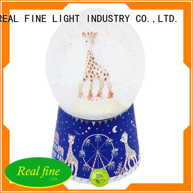 Real Fine beautiful custom snow globe design for shop