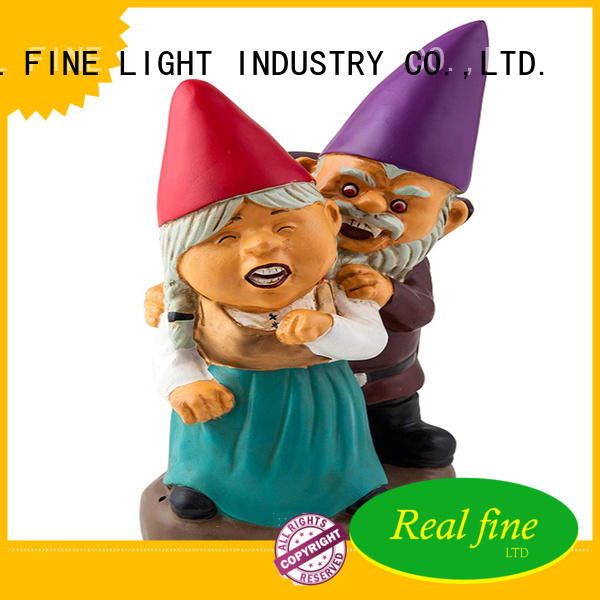 Real Fine colorful gnomes for sale factory for park