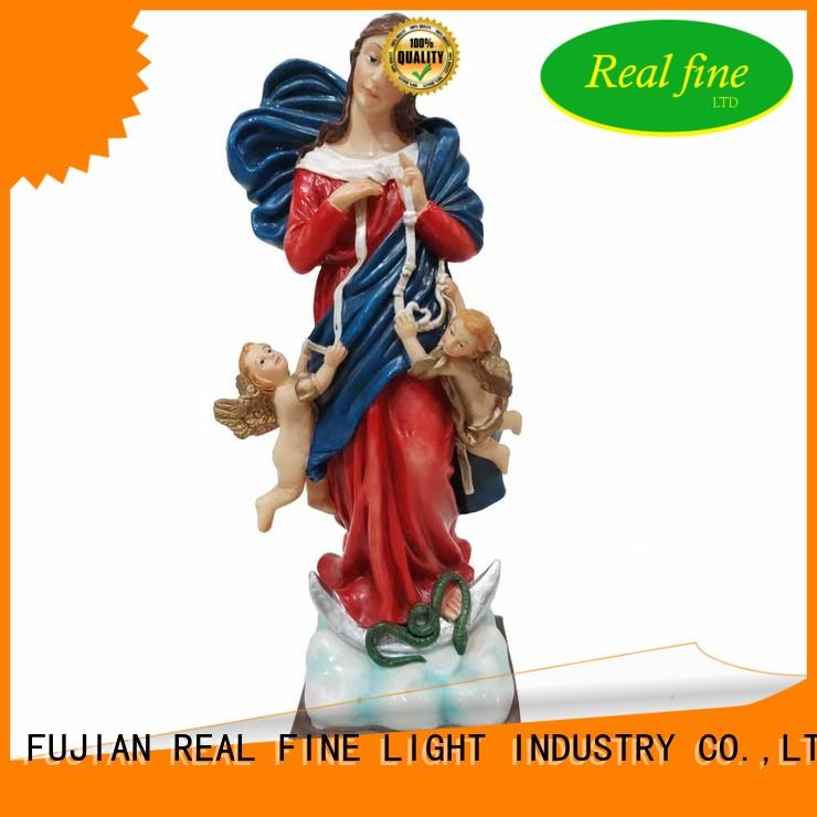 Real Fine customized resin figures wholesale