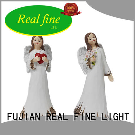 made religious angel figurines decoration for garden Real Fine