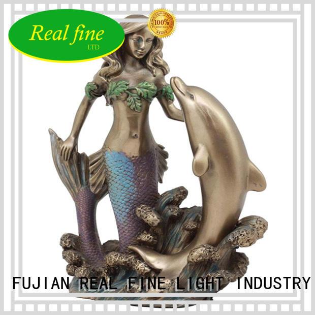 Real Fine custom Home decor figurine supplier for office