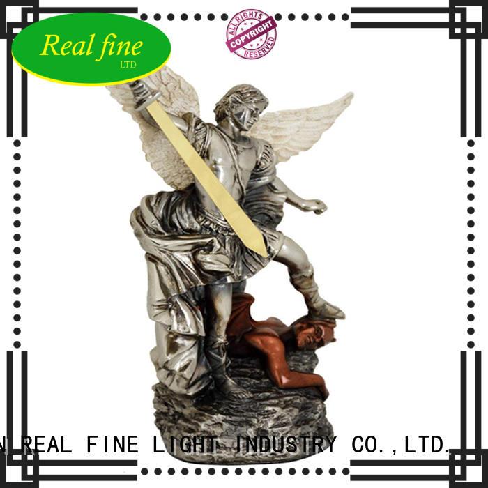 Saint michael archangel statue resin figurine  home decor