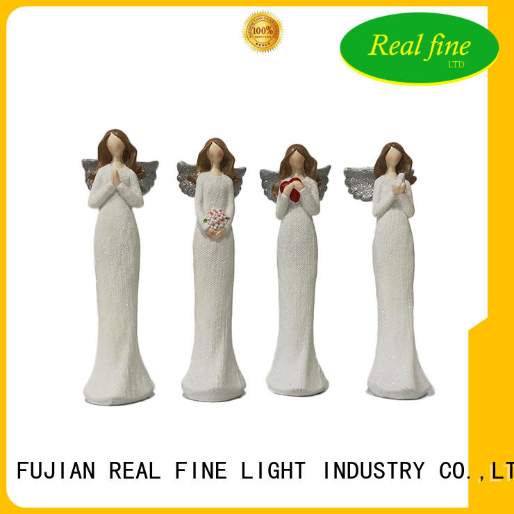 Real Fine beautiful beautiful angel figurines decoration for home