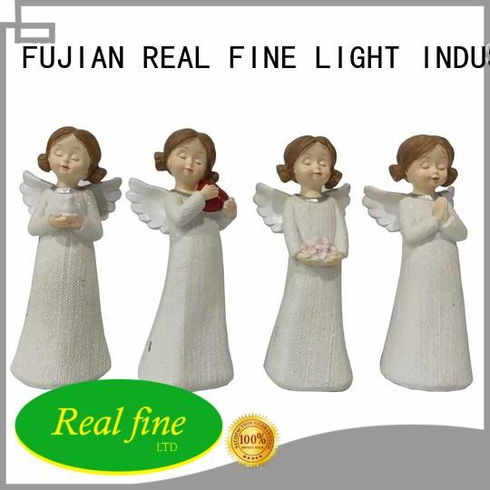 Real Fine environmental resin angel figurines for decoration for office
